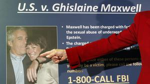 Maxwell is charged with recruiting teenage girls for financier Epstein to sexually abuse. (AP/John Minchillo, File)