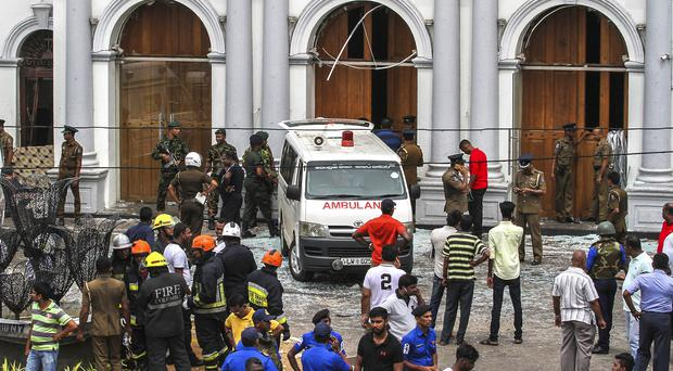 Forty people have been arrested after the Sri Lankan bombings (AP Photo/Chamila Karunarathne, file)