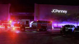 Authorities respond after reports of shots fired at the Riverchase Galleria in Hoover (AP)