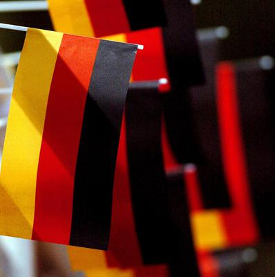 A German police officer has been accused of chopping up a man he met on the internet.