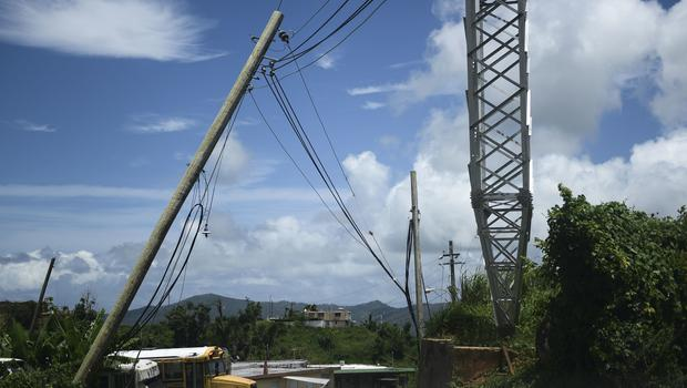 The hurricane led to the longest power outage in US history (AP)