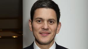 David Miliband said anyone with an ounce of morality felt appalled by what was happening in parts of Europe