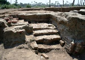 A large Roman bath and a chamber likely to have been used for religious rituals (Egyptian Ministry of Antiquities/AP)