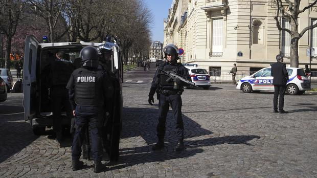 A letter bomb exploded at the French office of the IMF