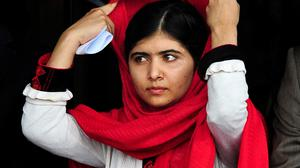 Malala Yousafzai was given the World's Children's Prize in Sweden