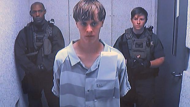 Dylann Roof appears via video before a judge in Charleston, South Carolina (Centralised Bond Hearing Court via AP)