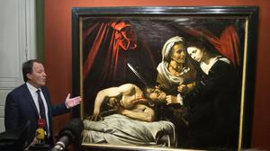 A 400-year-old painting that might have been executed by Italian master Caravaggio has been found in an attic in southern France (AP)