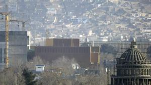 Covid-19 cases have been reported at the US Embassy in Kabul (Ahmad Nazar/AP)
