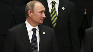 Vladimir Putin said that cutting Russian access to capital markets would hurt Western exports (AP)