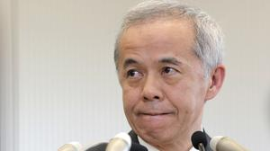 Tokyo Electric Power Company president Naomi Hirose has apologised on behalf of the firm (AP)