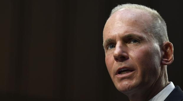 Boeing Company President and Chief Executive Officer Dennis Muilenburg (Susan Walsh/AP)