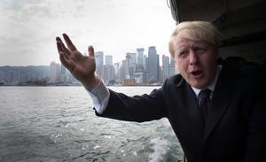 Boris Johnson pictured during a visit to Hong Kong when he was London mayor (Stefan Rousseau/PA)