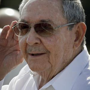 Cuba's president Raul Castro has hinted that he could retire (AP Photo/Franklin Reyes)