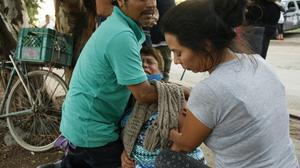 Gunmen burst into a rehabilitation centre in Mexico and opened fire, killing at least 24 people (Mario Armas/AP)