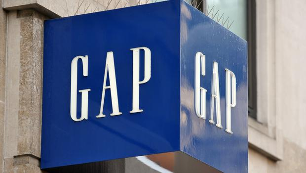 A Gap shop sign in central London (Nick Ansell/PA)