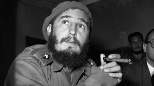 The US government tried many oddball schemes to overthrow the regime of Fidel Castro, including poisonous cigars and an exploding seashell (AP)