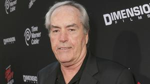 Powers Boothe, pictured in August 2014 at the LA premiere of Sin City: A Dame To Kill For, has died aged 68 (Photo by Todd Williamson/Invision/AP, File)