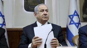 Israeli prime minister Benjamin Netanyahu and his hardline base are eager to move ahead while Donald Trump remains in office (Gali Tibbon/Pool via AP)