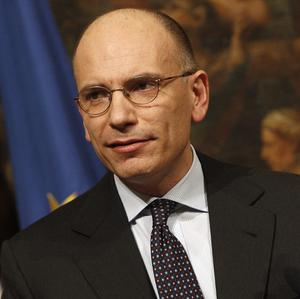 Italian Premier Enrico Letta has quit after a mutiny within his own party (AP)