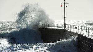 Coastal roads are at risk of flooding (Tim Ireland/PA)