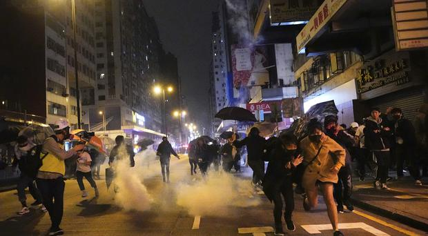 Protesters have continued their demonstrations in Hong Kong (Vincent Yu/AP)