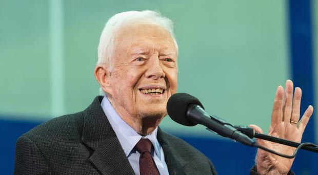 Jimmy Carter (AP Photo/John Amis)