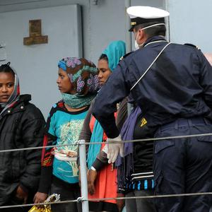 In the past week alone, more than 4,000 migrants have reached Italy's shores (AP)