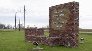 The Department of Correction's Cummins Unit prison in Varner, Arkansas, where eight prisoners are scheduled to die by the end of April (AP Photo/Kelly P. Kissel)