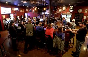 The Dairyland Brew Pub opens to patrons following the ruling (William Glasheen/AP)