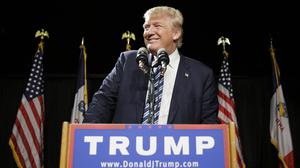 """Donald Trump says he and NBC have settled their beauty pageant """"dust-up"""""""
