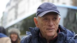 Ric O'Barry at a protest to campaign against the Taiji dolphin culls
