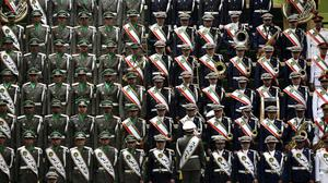 There have been a series of shooting in the Iranian military