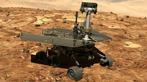 The rover Opportunity on the surface of Mars (Nasa/AP)