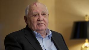Mikhail Gorbachev said the West wasted a chance to build a safer world after the Cold War (AP)