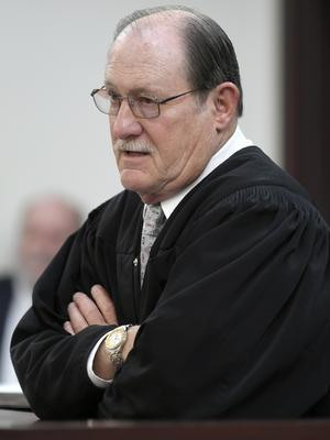 Judge Michael Mondelli is presiding over the case (Shelley Mays/The Tennessean/AP, Pool)
