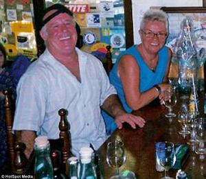 Former British Olympic diver Peter Tarsey and his wife, Jean, who were shot dead in their Benidorm villa