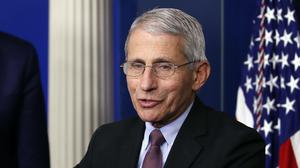 Dr Anthony Fauci was reportedly blocked from appearing at the committee (Alex Brandon/AP)