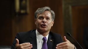 Christopher Wray has been confirmed as the new FBI director at a difficult time for the bureau (AP Photo/Pablo Martinez Monsivais, File)
