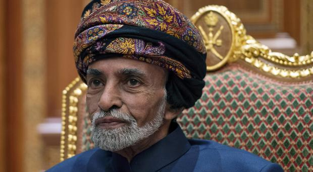 Sultan Qaboos bin Said of Oman has reportedly died (Andrew Caballero-Reynolds/AP)