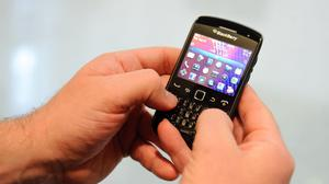 BlackBerry has seen its share of the smartphone market tumble