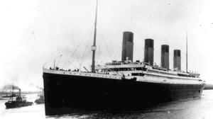 The Titanic leaves Southampton on her maiden voyage (AP)