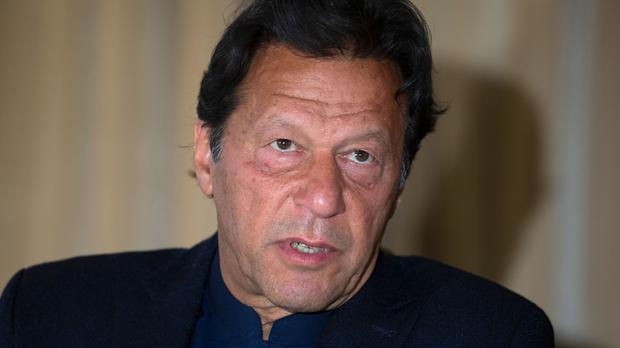 Prime Minister Imran Khan has been criticised (B.K. Bangash/AP)