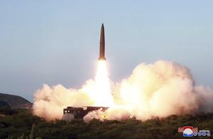 The North Korean government shows a test of a missile launch in North Korea from last week (Korean Central News Agency/Korea News Service via AP)