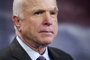 The late US senator John McCain (AP)