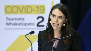 New Zealand Prime Minister Jacinda Ardern (Hagen Hopkins/Pool Photo via AP)