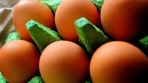 """File photo dated 10/05/10 of eggs, as a """"very small number"""" of European eggs at the centre of a contamination scare have been distributed in Britain, but the public health threat is """"very low"""", the Food Standards Agency said."""