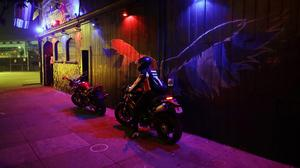 The exterior view of The SF Eagle, a historic gay bar in San Francisco (Marcio Jose Sanchez/AP)