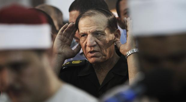 Sami Annan in his former role as Chief of Staff (Amr Nabil/AP)