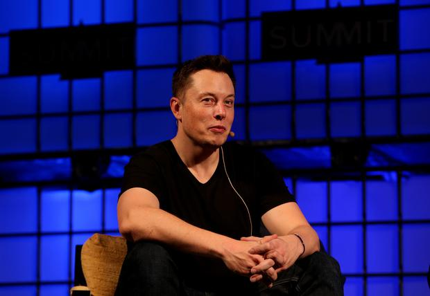 Elon Musk will be given the share options (Brian Lawless/PA)