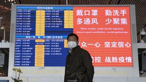 China is temporarily barring most foreigners from entering the country (AP/Ng Han Guan)